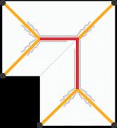 Jelmagyarázat L alakú tetőhöz képe